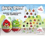 Vajíčko Angry Birds čok. / 24 Ks