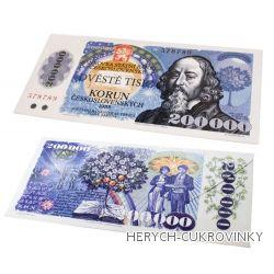 Bankovka Dvěstětisíc kčs - čokolády 60g