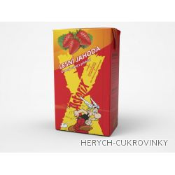 Asterix drink s brčkem 250ml / 27 Ks