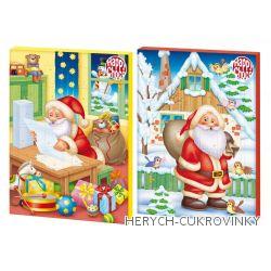 Adventní kalendář Happy choco - santa 50g