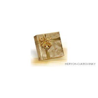 Delafaille gold pralinky čtverec 400g