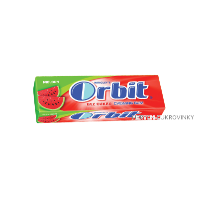 Orbit meloun dražé / 30Ks