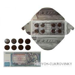Bankovka Milion kčs - čokoláda hořká 60g