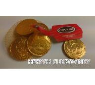 Mince čokoládové 5,-Kč 50g síťka