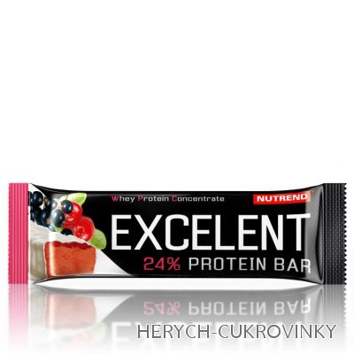 Excelent Protein Bar rybíz+brusinka 40g
