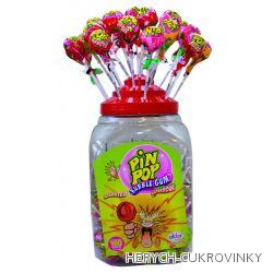 Lízátko Pin pop kyselý mix / 100Ks