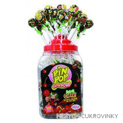 Lízátko Pin pop Black cherry / 100Ks