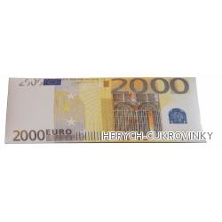 Bankovka Dvatisíce eur - čokolády 60g