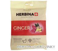 Herbina drops zázvor 80g