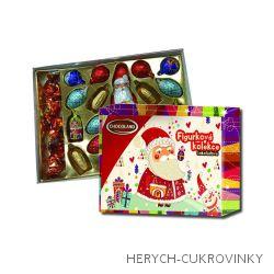 Vánoční čok. kolekce veselý santa  400g