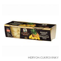 FJK Ananas kousky ve sladkém nálevu 2x135ml