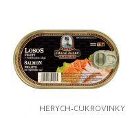 FJK Losos filety v rostlinném oleji 170 g