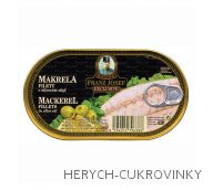 FJK Makrela filety v olivovém oleji 170 g