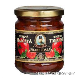 FJK Sušená rajčata půlená 210ml