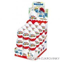 Kinder vajíčko Šmoulové 20g / 36Ks