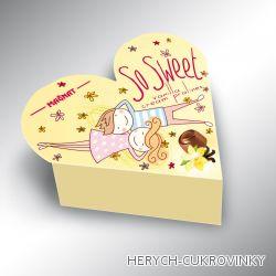 So Sweet srdce vanilka  26g