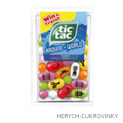 Tic tac  Around the world 26g / 24Ks