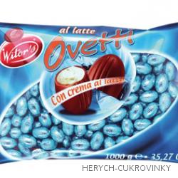 Witors mini vajíčka mléč. krém 1Kg / 166ks balení