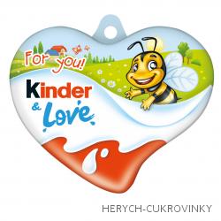 Kinder Love srdce čok. 37g