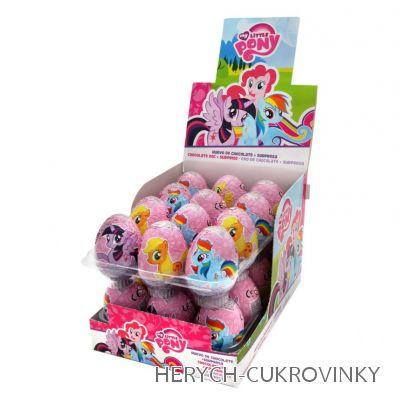 Vajíčko My little pony čok. / 24 Ks