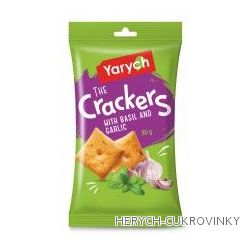 Crackers Yarych bazalka/česnek 80g