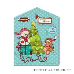 Adventní kalendář exkluzive Blue Christmas 155g