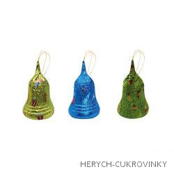 Zvonek čokoládový 12,5g dóza /55 Ks