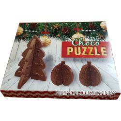 Puzzle vánoční 80g