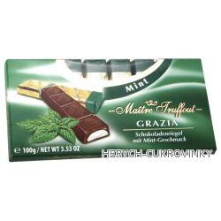 Grazioso MT čokoláda Mint 100g