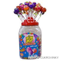 Lízátko Pin pop ovocný mix  / 100Ks