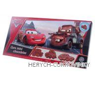 Cars kolekce tvarovaných čokolád 75g