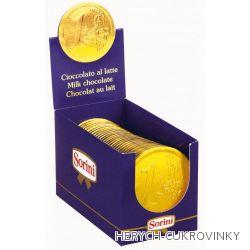Čokoládové medaile EURO / 30 Ks