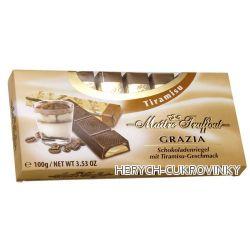 Grazioso MT čokoláda Tiramisu 100g