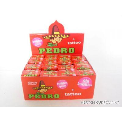 Pedro žvýkačka s tetováním 5g / 120 Ks