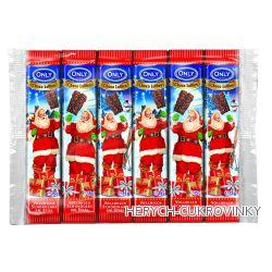 Only vánoční čokoládové líz. santové 6*15g
