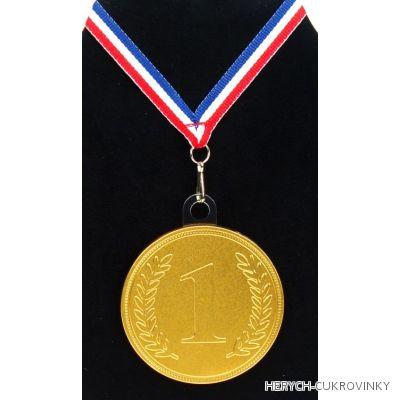 Medaile No1 se závěskou 23g / 24 Ks