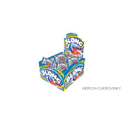 Žvýkačky Blong Blue / 40 Ks