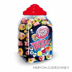 Lízátko Gum Pop Tatoo ovoce mix / 100 Ks