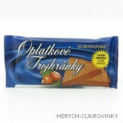 Dia Trojhránky lískooříškové 25g / 25Ks