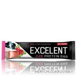 Excelent Protein Bar rybíz+brusinka 85g