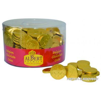 Mince čokoládové zlaté 1Kg / koruna