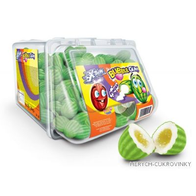 Žvýkačky melounky zelené volné / 300Ks balení