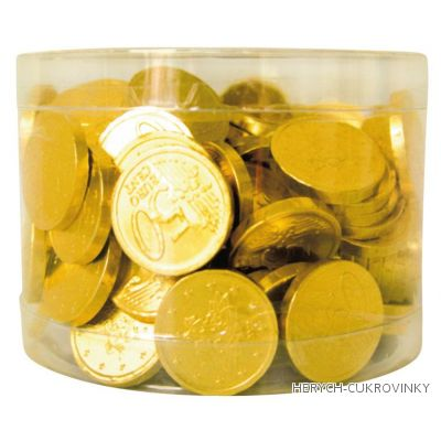 Mince čokoládové zlaté 450g