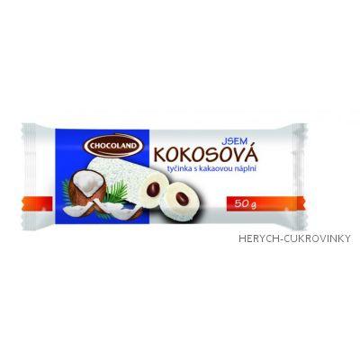 Jsem Kokosová s kak. náplní 50g / 48 Ks