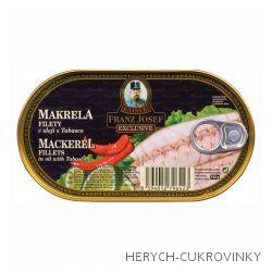 FJK Makrela filety v oleji s tabaskem 170 g