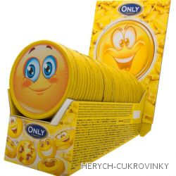 Čokoládové Only medaile Emoji / 36 Ks