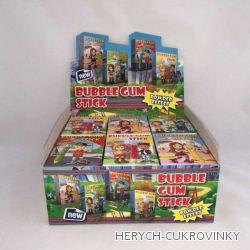 Žvýkačky v krabičce / 18 Ks