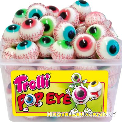 Želé oči balené Troli / 60 Ks