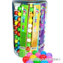 Žvýkačky pravítko kuličky 12ks / 42Ks balení