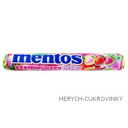 Mentos strawberry mix 38g / 40 Ks